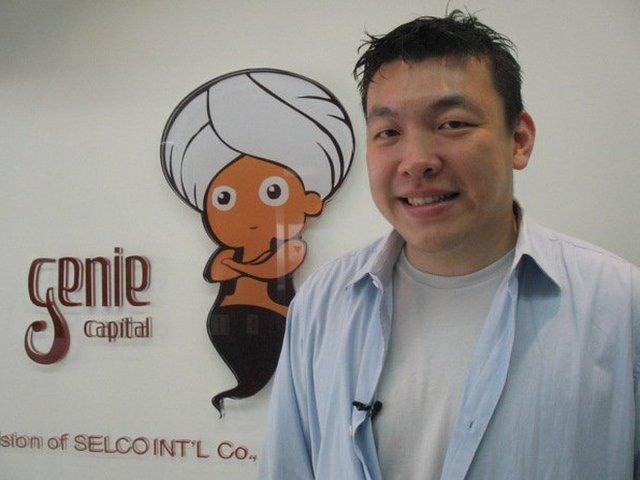 Internet entrepreneur Jimmy Chen