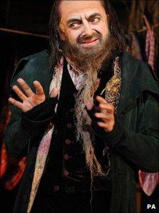 Rowan Atkinson as Fagin
