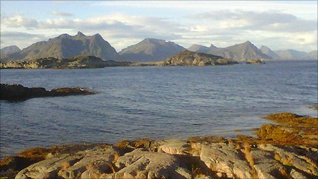 The Lofoten Islands, high up in the Arctic Circle