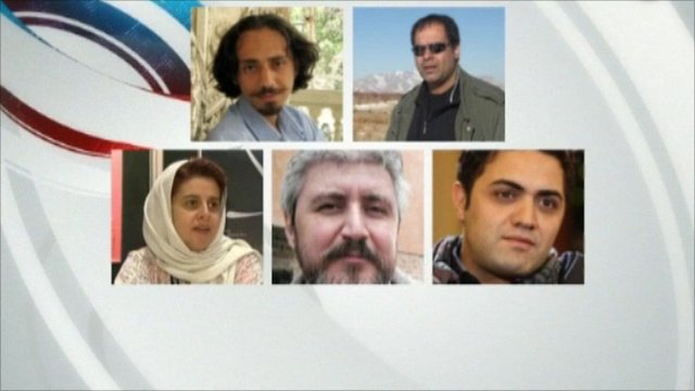 Iranian filmmakers who have been arrested by the Iranian authorities