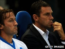 Mauricio Taricco and Gus Poyet
