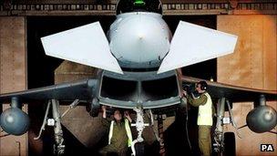 The Eurofighter Typhoon