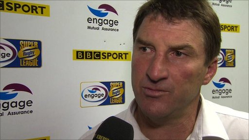 Tony Smith - Warrington Wolves coach