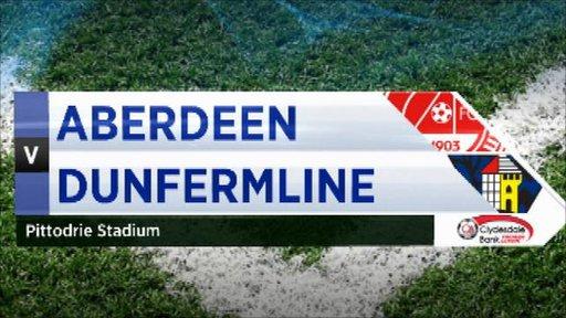 Aberdeen 4-0 Dunfermline