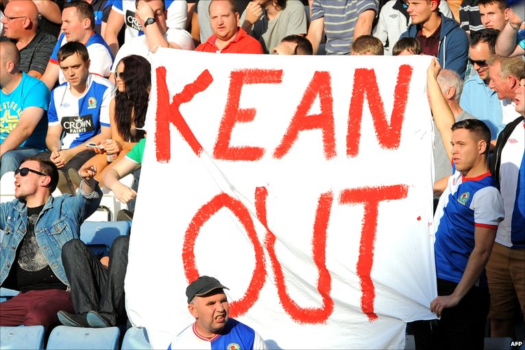 Kean Out sign