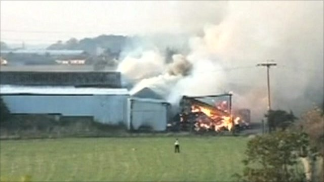 Hessle Farm fire