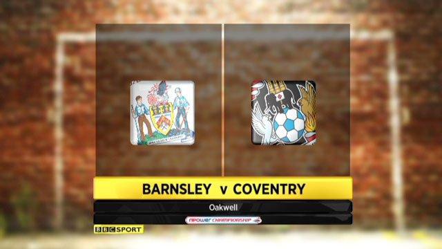 Barnsley v Coventry
