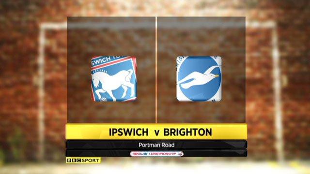 Ipswich v Brighton