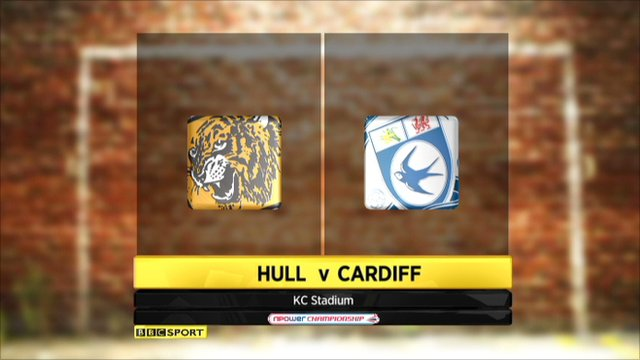 Hull 2-1 Cardiff