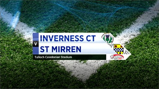 Highlights - Inverness CT 2-1 St Mirren