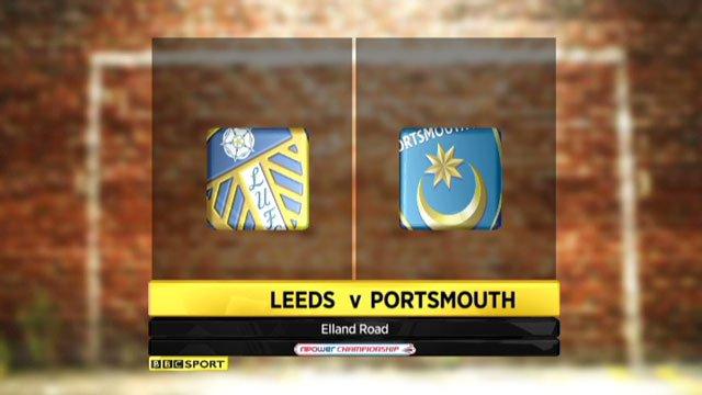 Leeds v Portsmouth