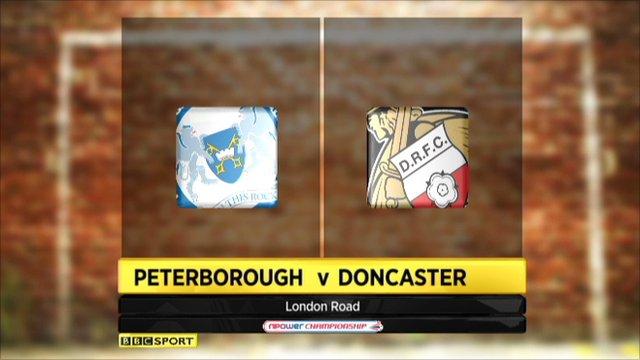 Peterborough 1-2 Doncaster