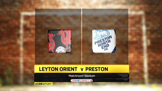 Leyton Orient v Preston 