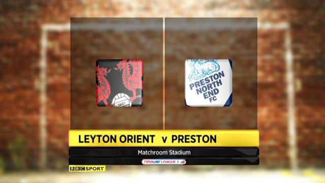 Leyton Orient v Preston
