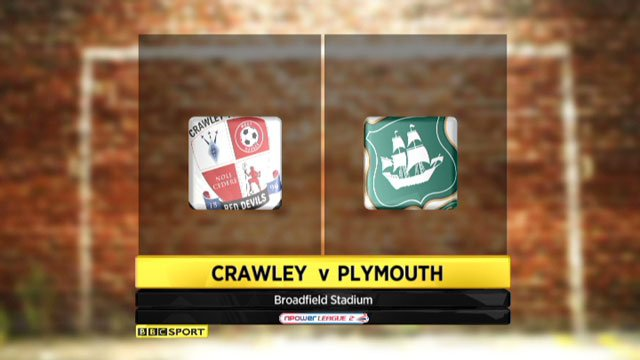 Crawley v Plymouth