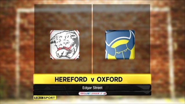 Hereford 0-1 Oxford United