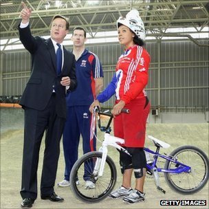 David Cameron meets Shanaze Reade and Grant White