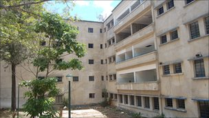 El Algodonal's paediatric wing, closed for renovations four years ago and which has never been completed