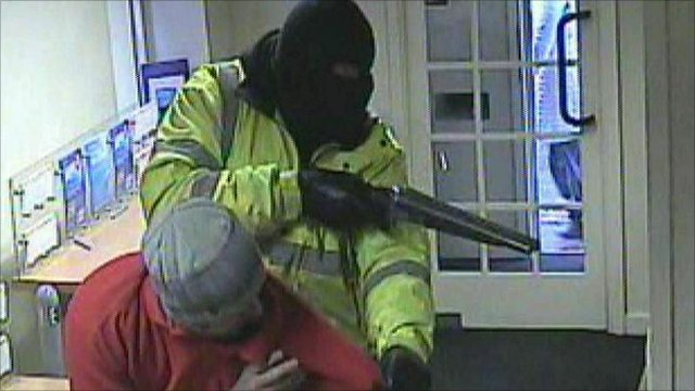 Bank robbery in Watlington, Oxfordshire
