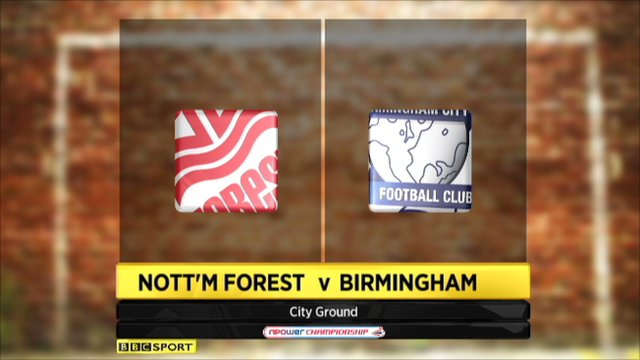 Highlights - Nott'm Forest 1-3 Birmingham