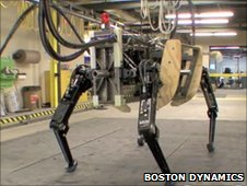 Boston Dynamics demo of the AlphaDog