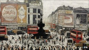 LS Lowry - Piccadilly