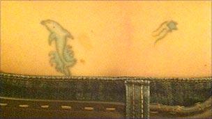 Rebecca's tattoo