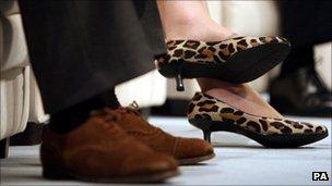 Theresa May's heels