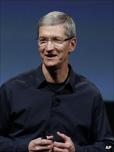 Tim Cook. 4 Oct 2011