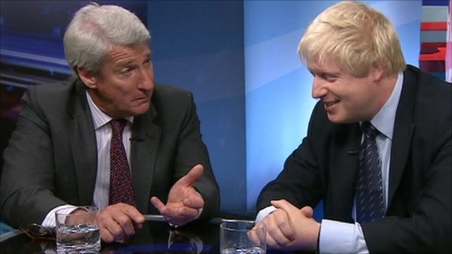 Jeremy Paxman interviews Boris Johnson