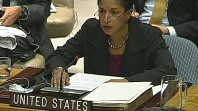US Ambassador to the United Nations, Susan Rice