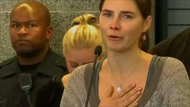 Amanda Knox speaking in Seattle