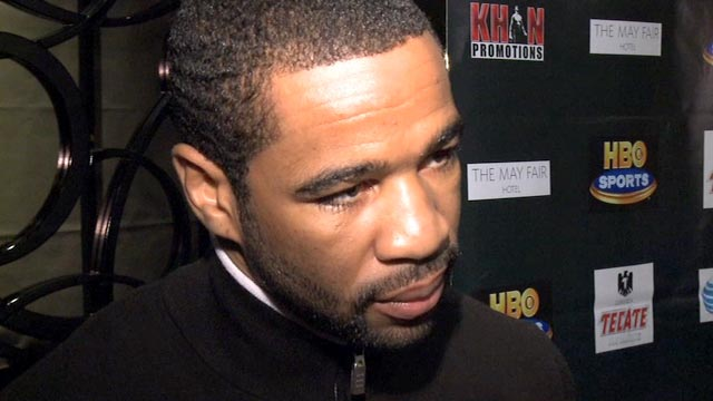 Lamont Peterson will fight Amir Khan on 10 December