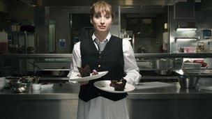 Isy Suttie in the BBC sitcom Whites
