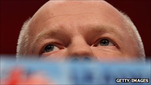 William Hague gives his conference speech