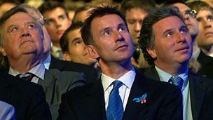 Ken Clarke, Jeremy Hunt and Oliver Letwin