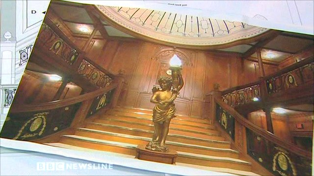Titanic staircase