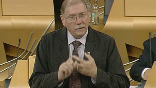 SNP MSP Rob Gibson leads his member's debate