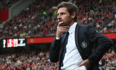 Chelsea manager Andre Villas-Boas