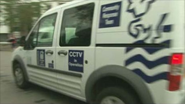 Oxford's mobile CCTV unit
