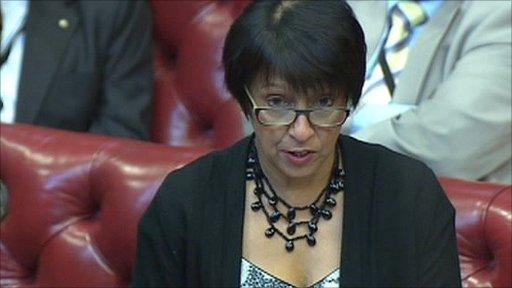 Liberal Democrat peer Baroness Falkner