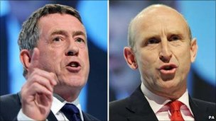 John Denham and John Healey