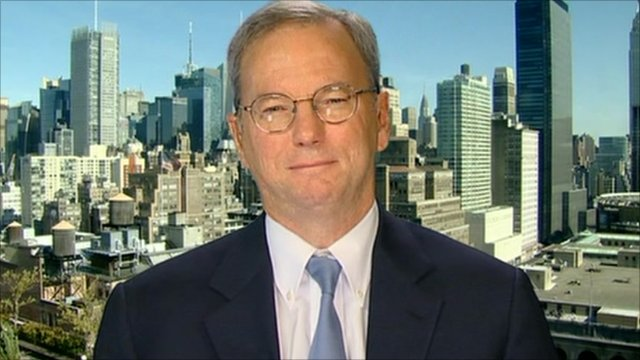 Eric Schmidt, chairman of Google