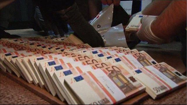 Counterfeit euros found in Poland