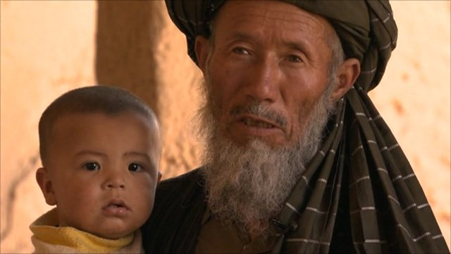 Afghans facing drought