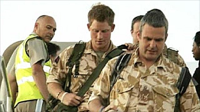 Prince Harry arrives in California