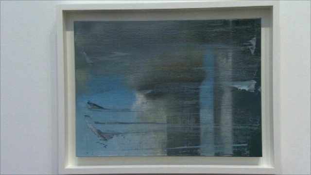 Gerhard Richter's painting 'September'