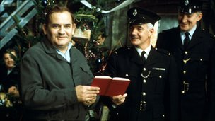 A scene from the BBC show Porridge