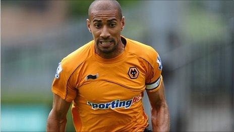 Wolverhampton Wanderers' Karl Henry