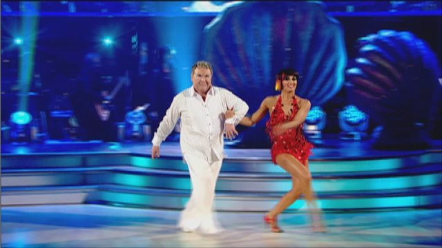 Russell Grant on Strictly Come Dancing